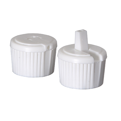 White Spout Dispenser Caps (Medium)
